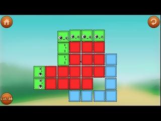 Игра Удалить Красный БЛОК ♦️ Remove Red Block Cartoon Game #7 Мультик