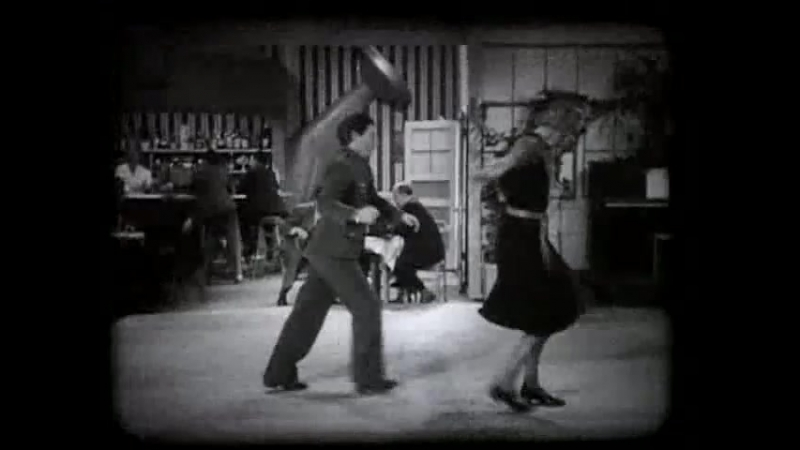 Judy Canova Attempts To Cut A Rug With Mary Treen