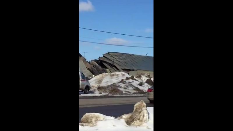 Последствия пожара НЭХ Снегири, 23.03.18 (Снегири рф)