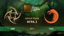 NIP vs TNC карта 2, The Kuala Lumpur Major Плей-офф