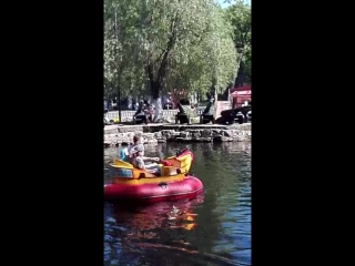 Поплыли парк им Ю А Гагарина 20 05 2018