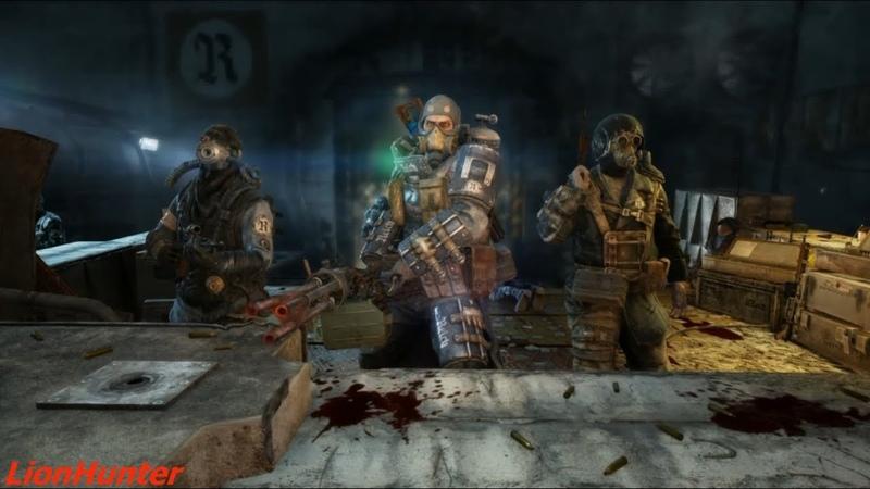 Metro Last Light Redux - DLC Faction Pack - Тяжёлая пехота [Выживание Рейнджер Хардкор]