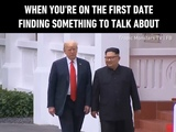 9GAG Go Fun The World on Instagram Ship them.Thanks @tropicmonsters.tv for the #9gagfunoff video-#9gag #trump #kim #firstdate #trumpkimsummit