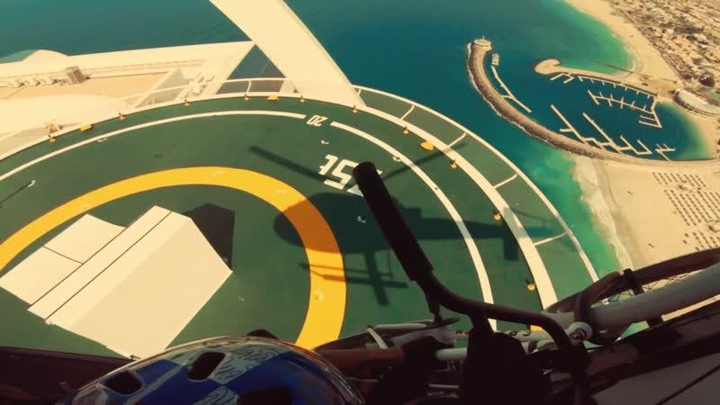 BMX Riding Dubais Most Famous Landmarks with Kriss Kyle