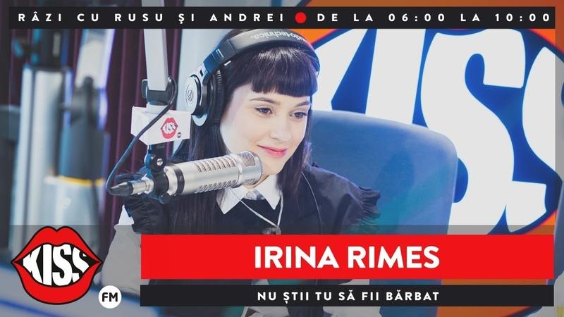 Irina Rimes INNA - Nu Știi Tu Să Fii Bărbat (Live @ KissFM)