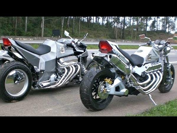 😱 Мощнейшие Мотоциклы с Моторами V8 💪!