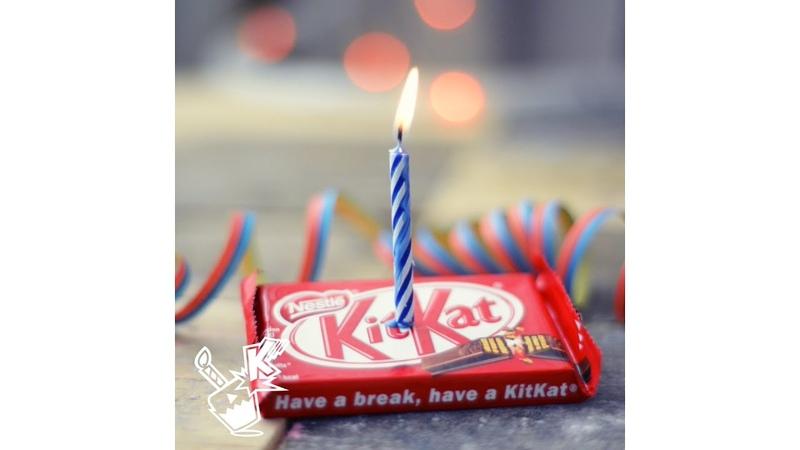 Happy KITKAT Birthday
