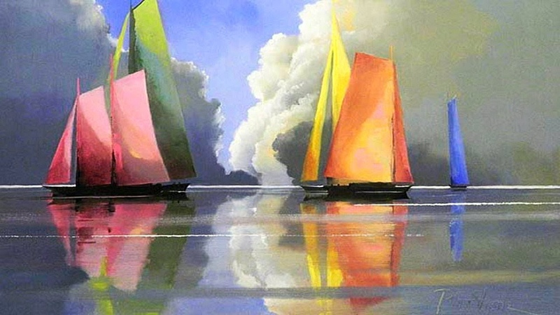 Минималистичная живопись Пола Стоуна (Paul Stone)