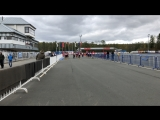 Первенство России по биатлону. Роллеры-эстафета 3х6 км юниорки