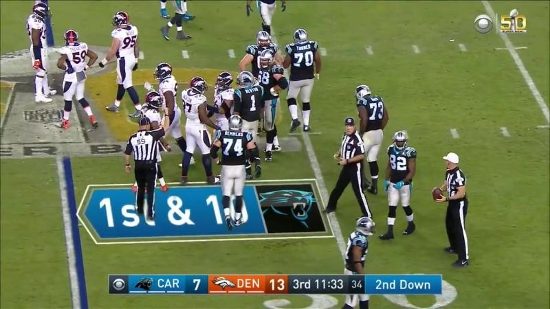 Super Bowl 50 - Panthers vs. Broncos - NFL Full Game