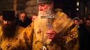 Освящение храма Трифоно Печенгского мужского монастыря