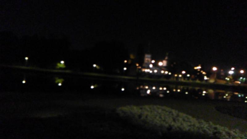 Луна на лианозовском пруду