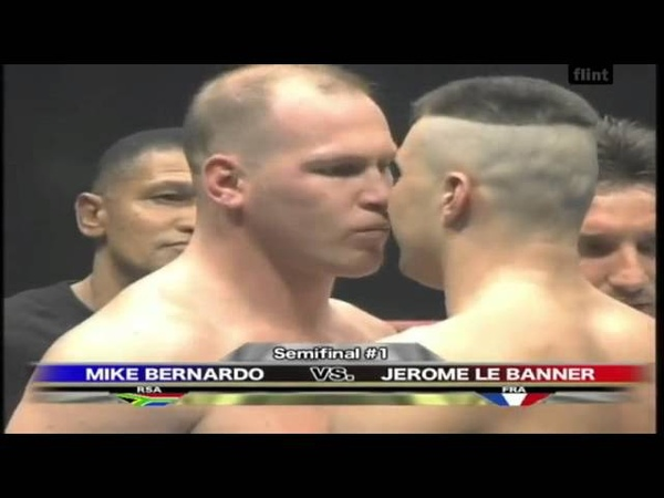 The Kiss. Box. Mike Bernardo vs. Jeromy Le Banner. Semifinal 1.