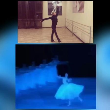 """Бледная Поганка on Instagram: """". Остановись, мгновенье, Ты прекрасно! Кто Балерина, кто Топтун - Всё ясно 🌱 Сверху Настенька топочет, Показат б..."""