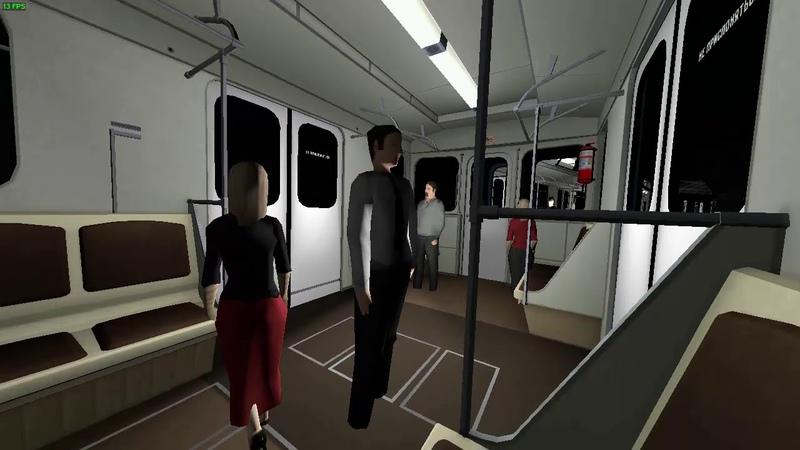 Garry's Mod Metrostroi НВЛ