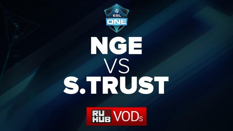 N.Generation -vs- SiG.Trust, ESL One Manila 2016, SEA Quals, Quarterfinal, game 1