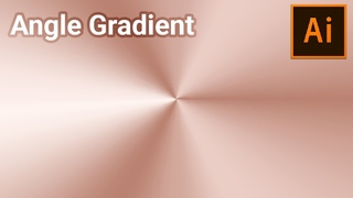 How to Create Angular or Conical Gradient in Adobe Illustrator