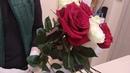 Создание букета из роз, Классический микс, мастер-класс, обучающее видео. Часть 1