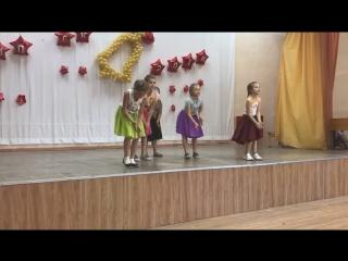 Школьный конкурс «Танцы # 24» в лагере