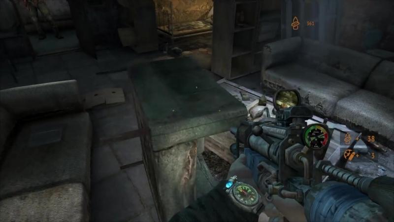 [RusGameTactics] Прохождение Metro 2033 Redux — Часть 5: Сухаревская / Призраки