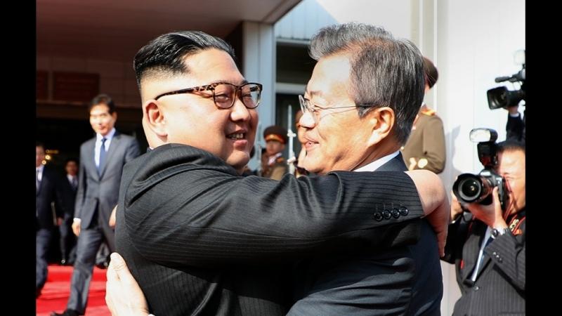Видео второй тайной и внезапной встречи Северной и Южной Кореи