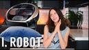 Робот-пылесос Samsung POWERbot VR7070 мощное всасывание