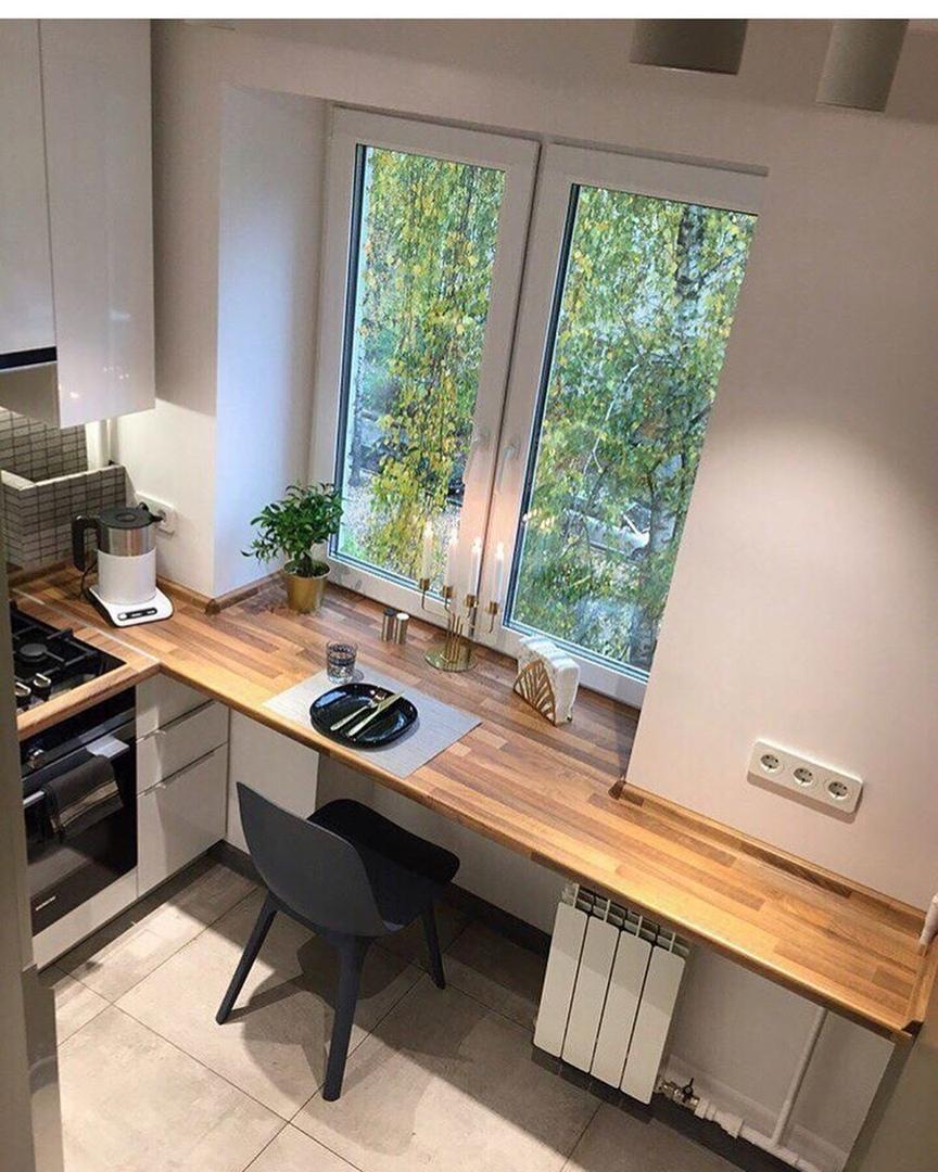 Небольшая кухня 5 кв.
