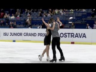 Елизавета Худайбердиева / Никита Назаров -ПТ. Czech Skate 2018