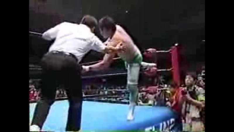 21. Mitsuharu Misawa vs Toshiaki Kawada 1 22 99
