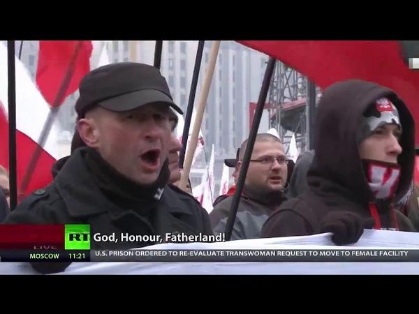 Für ein weißes und katholisches Polen - 250.000 Nationalisten marschieren in Warschau