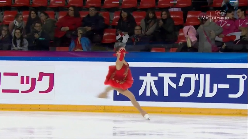 Alina Zagitova GP France International 2017 FS WU D