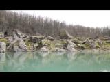 Озеро Амткел, Абхазия. Вид с воды.