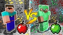 MINECRAFT NOOB VS PRO EMERALD APPLE BATTLE in Minecraft