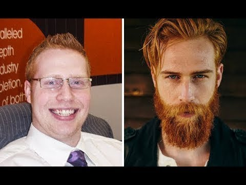 This Shy Guy's Barber Said He Should Grow A Beard – And It Ended Up Changing His Entire Life