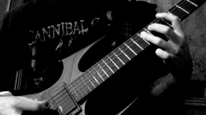 Hex - The Serpent's Chalice (Watain guitar cover)