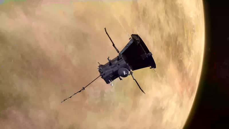 Animation of Parker Solar Probe during its Venus flyby
