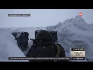 Командиры артиллерийских батарей 20-й общевойсковой армии соревнуются в меткости стрельбы в Воронежской области