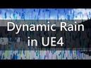 Dynamic Rain Effect in UE4