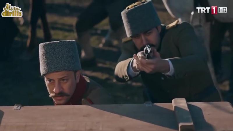 Осада Эль-Кута. Бой между турками и партизанами