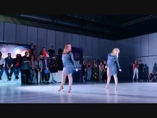 Marina & kseniya bachata show dancing queens