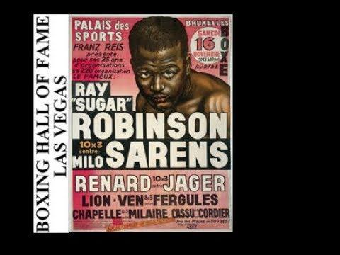 Sugar Ray Robinson KOs Emile Sarens November 16 1963