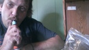 Brave man vapes a Carolina Reaper the world's hottest pepper
