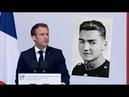 Lhommage dEmmanuel Macron au résistant Tom Morel sur le plateau des Glières