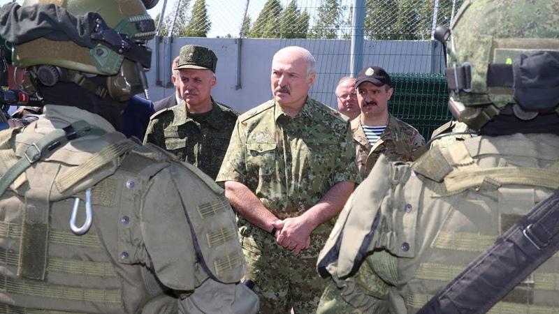 Лукашенко посетил погранзаставу Дивин