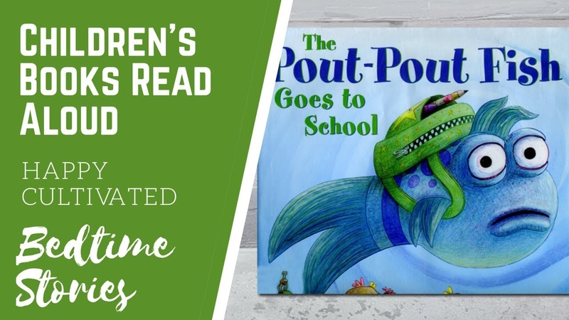 THE POUT POUT FISH GOES TO SCHOOL | Kindergarten Books for Kids | Childrens Books Read Aloud