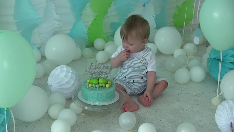 Матвей и мама Саша Полная версия Участники ФОТОдня 22 07 2018 Пакет Стандарт фото видеоролик декор торт подарок