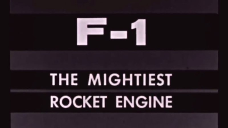 NASA HISTORY The F-1 The Mightiest Rocket Engine Apollo Mission