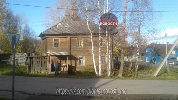 Следственный комитет возбудил уголовное дело после проверки ветхого дома в Вожеге Вологодской области, в