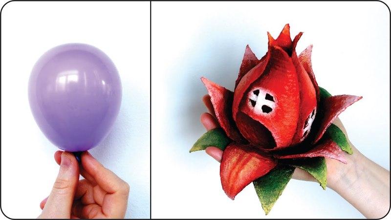 ❣DIY Fairy House Flower Using a Balloon❣