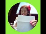180825 Joy (Red Velvet) @ Eye Contact Cam